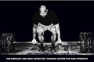 Jim Wendler's workout plan for raw strength