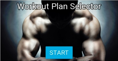 Workout Plan Selector
